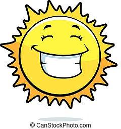 Sun sonriendo