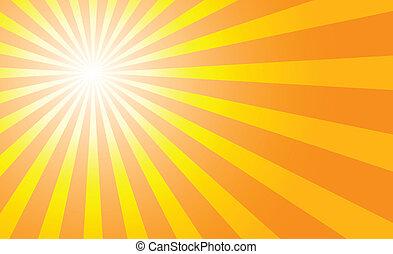sunburst, fondos