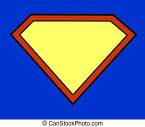 super héroe, plano de fondo