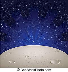superficie, luna
