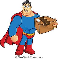 Superhéroe, parcela
