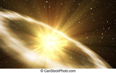 supernova, explosión