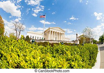 supremo, estados unidos, tribunal