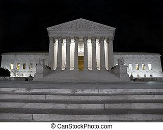 supremo, noche, tribunal
