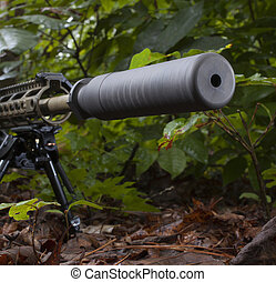 Supresor de rifles