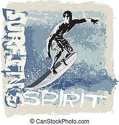surf, espíritu
