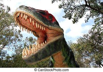 susto, dinosaurio