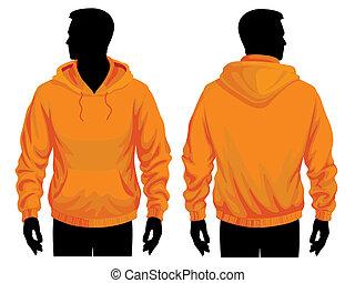 sweatshirt, plantilla