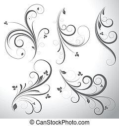 Swirls vectores