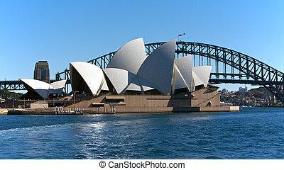 Sydney Australia, teatro de ópera y bridge