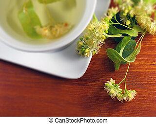 Té de flor de Linden