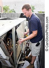 Técnico de aire acondicionado