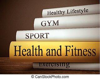 Título de libro de salud y aptitud