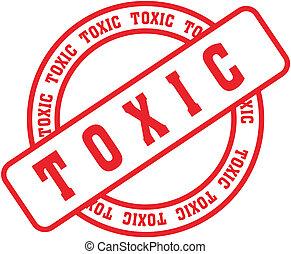 tóxico, stamp3, palabra