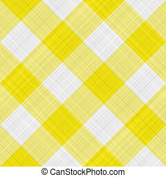 tabla, amarillo, tela