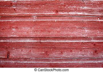 Tabla de granero rojo climatizado