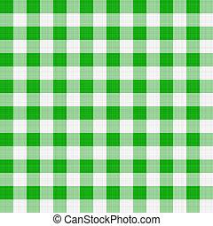 tabla, verde, tela