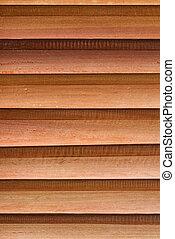 Tablas de madera superpuestas