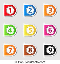 Tabs con números