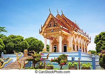 Tailandia, koh samui, Kunaram templo