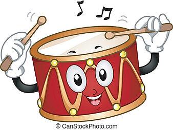 tambor, mascota