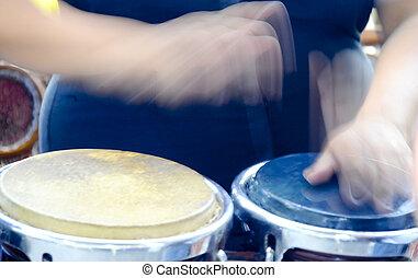 Tambores de Bongo
