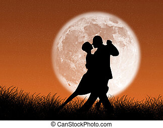 Tango en la luna
