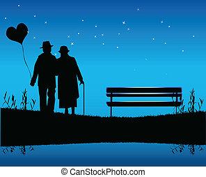 tarde, romántico
