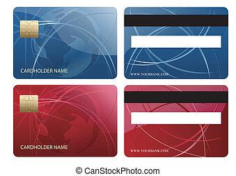 tarjeta de crédito, astilla, resumen