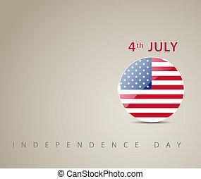 Tarjeta de día de la independencia