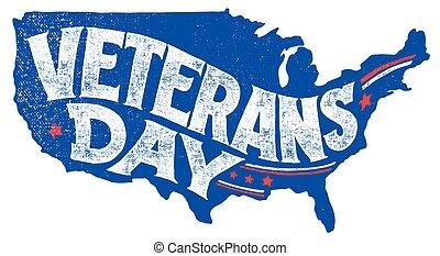 Tarjeta de felicitación para veteranos