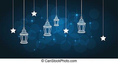 Tarjeta de felicitación Ramadan