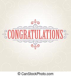 Tarjeta de felicitaciones Vectora