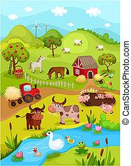 Tarjeta de granja