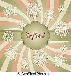 Tarjeta de Navidad Vectora
