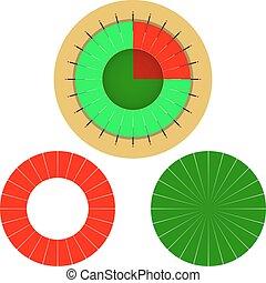 Tarjeta de pastel de vectores