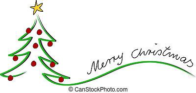 tarjeta, navidad, feliz navidad