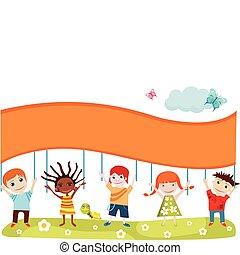 Tarjeta para niños