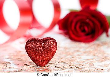 Tarjeta postal para el día de San Valentín