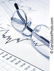 Tarjeta y gafas