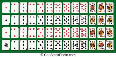 tarjetas, juego