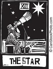 tarot, estrella