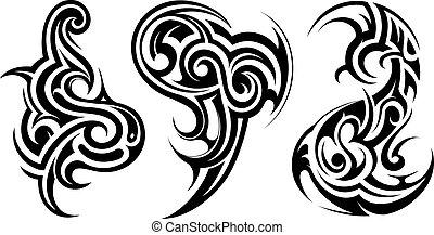 Tatuaje de arte tribal