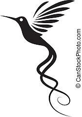 Tatuaje de colibrí