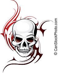 Tatuaje de cráneo