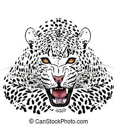 tatuaje, leopardo