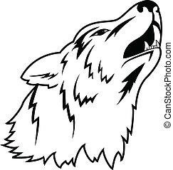 tatuaje, lobo