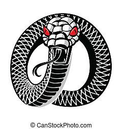 tatuaje, serpiente