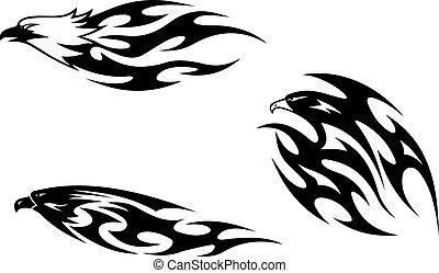 Tatuajes de aves depredadoras