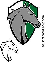 Tatuajes de caricatura de caballos